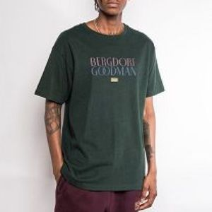 Size Small BERGDORF GOODMAN x KITH Forest Green T